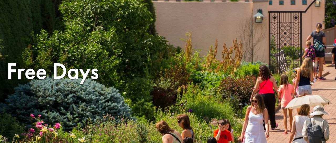 Denver Botanic Gardens 2018 Free Days-Chatfield Farms | Kids Out and ...