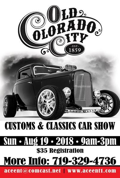Old Colorado City Car Show Kids Out And About Denver - Classic car show denver