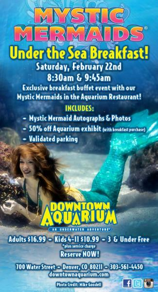 Mystic Mermaids Under the Sea Breakfast at the Downtown ...
